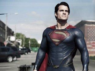 El nuevo traje de Superman en el set