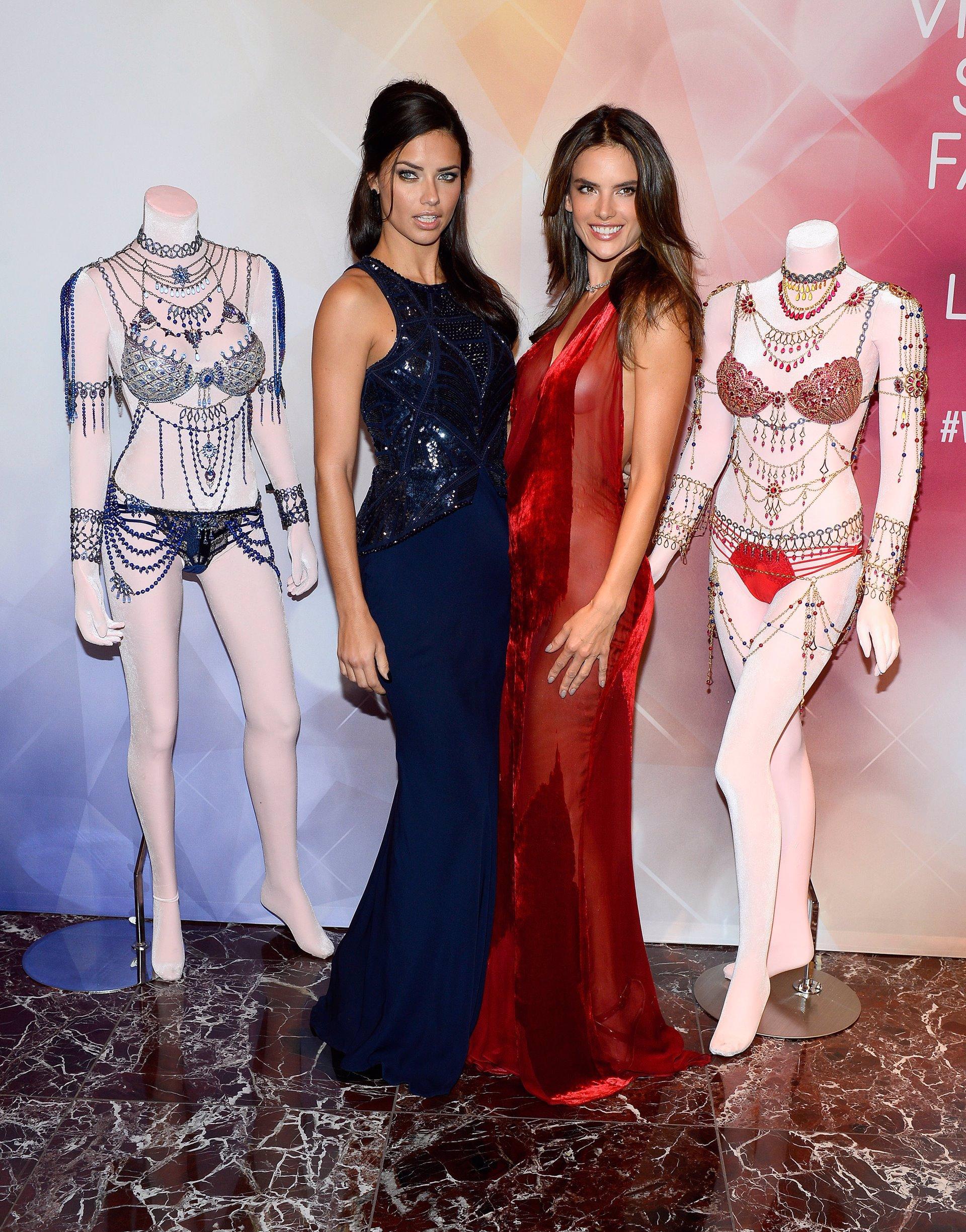 Adriana Lima y Alessandra Ambrosio