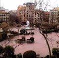 Tercera foto una foto de la Plaza de Olavide