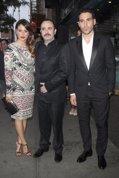 1STVIEWS MEDIA PUNCH: Blanca Suárez, Carlos Areces y Miguel Ángel Silvestre en el estreno de I´m so excited en Nueva York