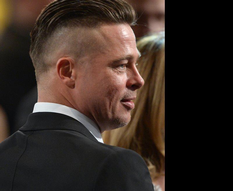 Brad Pitt: Nuevo corte de pelo para su nueva pel�cula b�lica 'Fury'