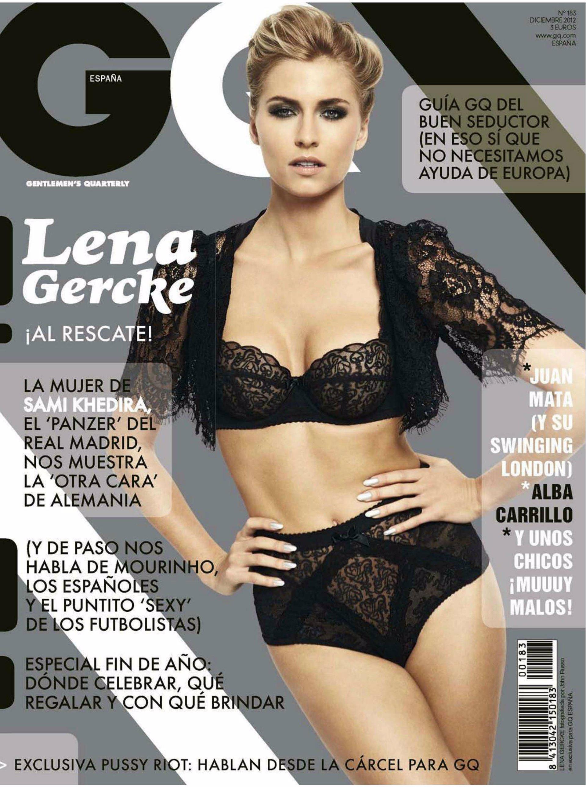 Lena gercke cosmopolitan cover shoot 2006 - 3 part 6