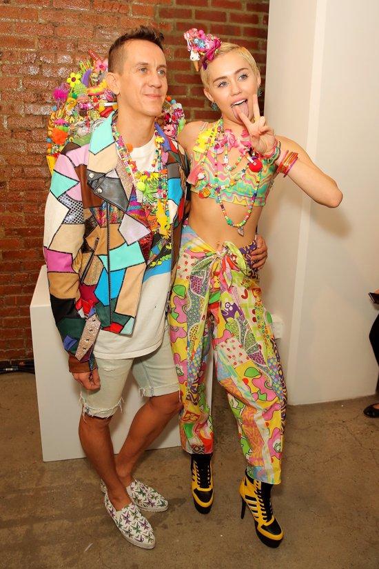 Miley Cyrus para Jeremy Scott