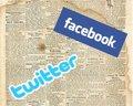 La venta de acciones de Facebook y Twitter preocupan a Wall Street