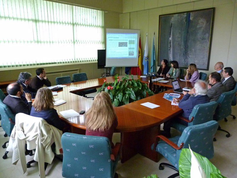 La uc estrena la oficina ecocampus de gesti n ambiental for Unicaja barcelona oficinas