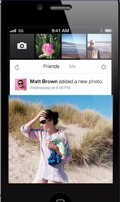 Facebook Camera llega a iPhone