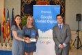 Alicante recibe el 'Premio Google Ciudad Digital'