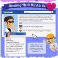 Amor, rupturas y estados de Facebook