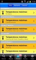La aplicación de Eltiempo.es llega a Android
