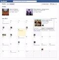 Los eventos de Facebook se presentan en forma de calendario