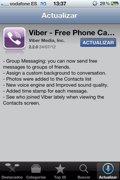 Una nueva actualización de Viber incluye grupos de mensajería