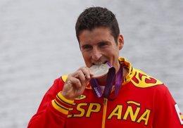 Foto: David Cal, el español con más medallas olímpicas (REUTERS)