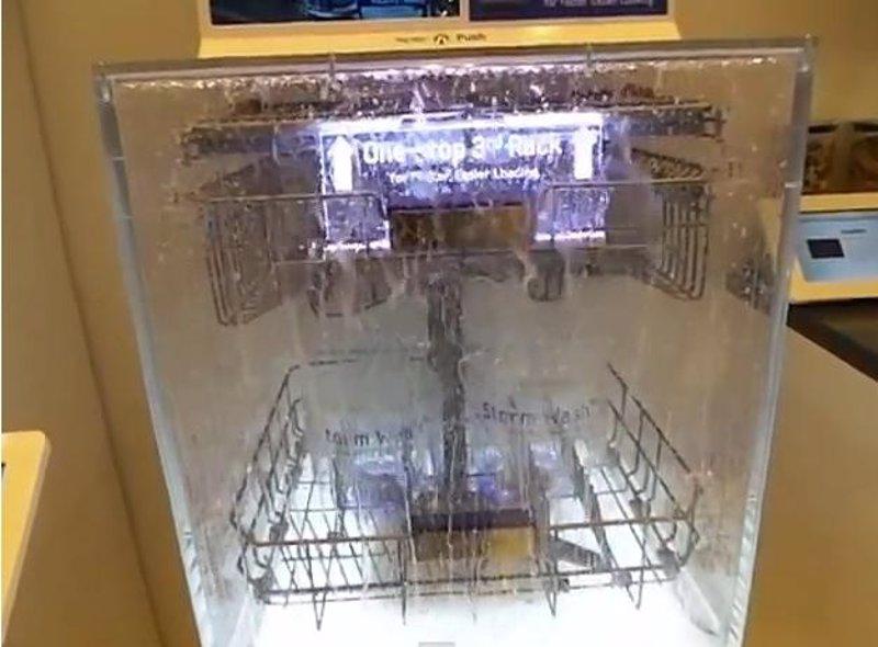 C mo funciona un lavavajillas por dentro samsung lo explica - Como limpiar un lavavajillas ...