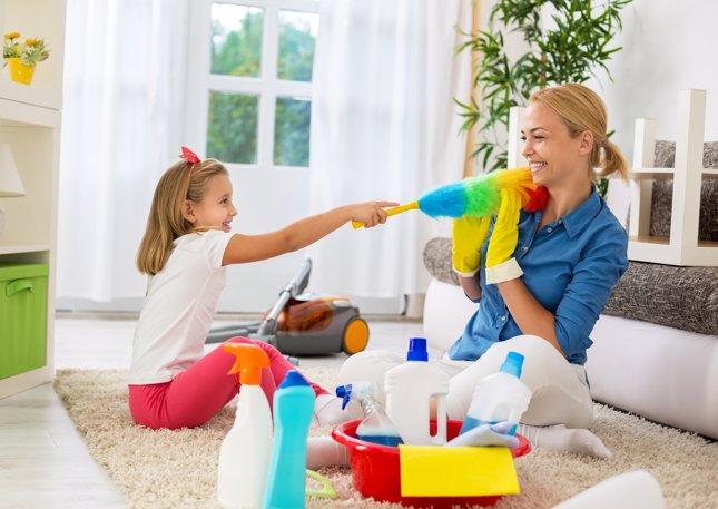 Encargos para los niños: educar en el orden