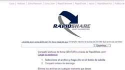 Foto: RapidShare despide al 75% de su plantilla (EUROPA PRESS)