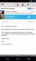 GMail vuelve a añadir el botón Eliminar en la app
