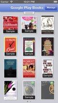 Google Play Books para iOS permite alquilar libros de texto