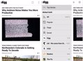 Digg Reader llega a los dispositivos Android