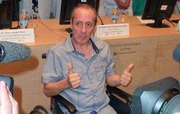 Foto: El Hospital La Paz realiza con éxito un reimplante de pierna que en el 95% de los casos hubiese acabado en amputación (HOSPITAL LA PAZ)
