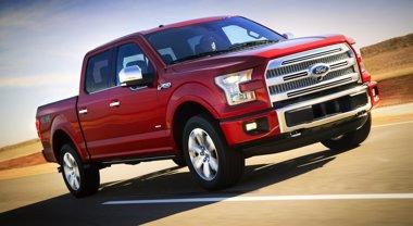 Foto: El nuevo 'pick-up' F-150 de Ford debuta en el Salón del Automóvil de Detroit (FORD)
