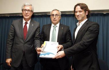 """Foto: Tarragona reafirma la """"solvencia económica"""" de los Juegos Mediterráneos (COE/ NACHO CASARES)"""