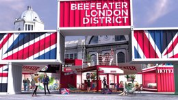 Foto: Beefeater London District permitirá dormir en el hotel más pequeño del mundo o probar lo último en 'street food' (BEEFEATER LONDON DISTRICT)