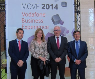 Foto: Vodafone presenta en MOVE 2014 las últimas tendencias y soluciones (EUROPA PRESS)