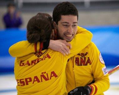 Foto: Irantzu García y Sergio Vez logran un histórico bronce en el Mundial de dobles mixtos 2014 (FEDH)