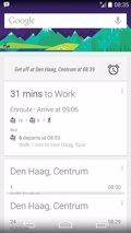 Google Now te avisará de tu parada cuando vayas a trabajar
