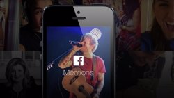Foto: Facebook lanza Mentions, una 'app' sólo para 'celebrities' (PORTALTIC)