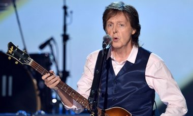 Foto: Paul McCartney graba con Joe Perry, Alice Cooper y Johnny Depp (GETTY)