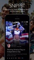 Snipp3t, la app de Microsoft para iOS que sigue a los famosos