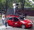 Un coche de Google Street View choca en dirección contraria