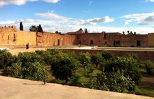 Marrakech, la 'vie en rose' al pie del Atlas