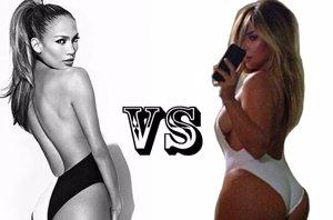 "Foto: Jennifer López contra Kim Kardashian ¿quién tiene mejor el ""Booty""? (EUROPA PRESS)"