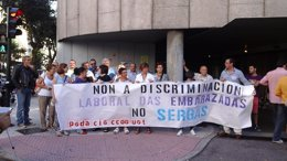 """Foto: Denuncian """"discriminación laboral"""" do Sergas cara a unha embarazada (EUROPA PRESS)"""