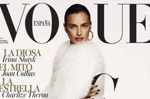 """Foto: La diosa Irina Shayk se hace con la """"G"""" de Vogue (VOGUE)"""