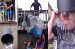 """Foto: Los mejores fails del reto mundial """"Ice Bucket Challenge"""" (YOUTUBE)"""