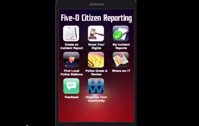 Foto: Una aplicación de móvil para evaluar el trato de la Policía con los negros (YOUTUBE)