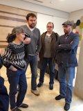 Foto: Anova, Podemos, Amaiur e o sindicato de Gordillo, xuntos (EUROPA PRESS)