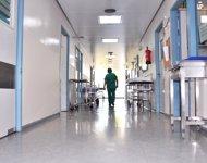 Pasillos de un hospital