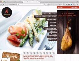 Foto: Economía.- El consorcio del jamón serrano español lanza su web en Alemania  para promociarse entre los consumidores (CONSORCIO DEL JAMÓN )
