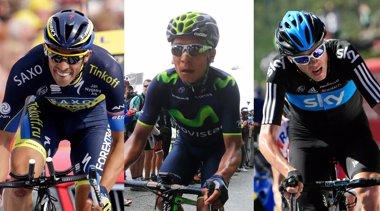Foto: Quintana quiere irrumpir en el duelo entre Froome y Contador (EUROPA PRESS)
