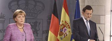 Foto: Rajoy y Merkel recorrerán este domingo los seis kilómetros del Camino sin compañía de otras autoridades (EUROPA PRESS)