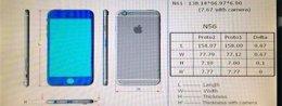 Foto: Filtradas las dimensiones de los dos modelos de iPhone 6 (IGEN.FR)