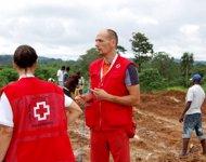 El delegado navarro de Cruz Roja Pablo San Julián