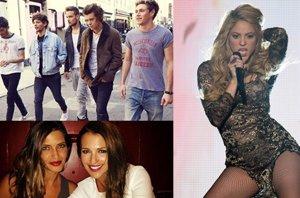 Foto: La separación de One Direction, el plagio de Shakira y la cena de Casillas y Sara Carbonero con Bustamente y Paula (EUROPA PRESS)