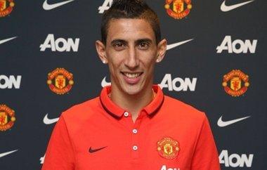 Foto: Di María, nuevo jugador del Manchester United (HTTP://WWW.MANUTD.COM/)