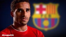 Foto: El Barça anuncia el fitxatge de Douglas (FOTOMONTAJE FCB)
