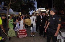 Foto: Detenidos tres menores por atraco en la feria de Almería (EUROPA PRESS/POLICÍA)
